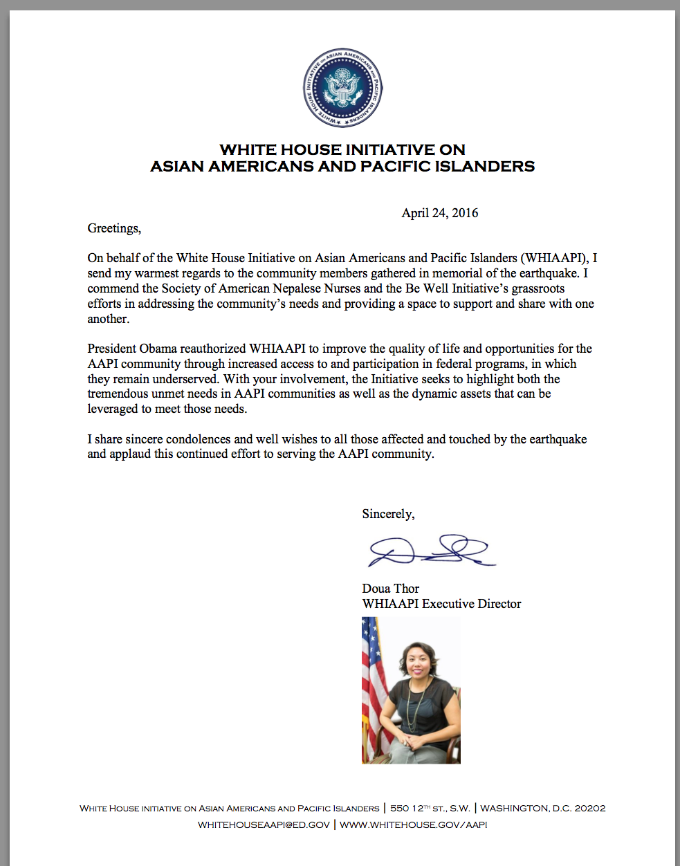 White House Initiative On Asian Americans And Pacific Islanders Be